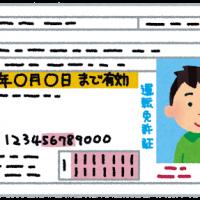 運転免許証の更新で写真を持ち込んでみた