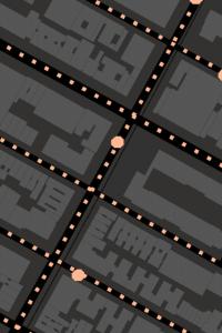 [期間限定] Googleマップにパックマン登場